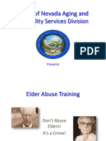 Elder Abuse Training