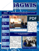 Bagwis Newsletter April-June 2016 Issue
