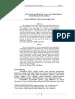 Analisis Kinerja Organisasi Sekertariat Dewan Perwakilan Rakyat Daerah Kabupaten Kutai Barat