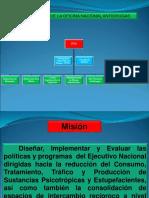 Organización, Misión , Visión y Actividades de La ONA.