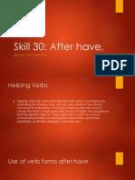 Skill 30