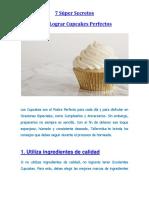 7 Súper Secretos Para Lograr Cupcakes Perfectos