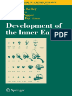 Development of the Inner Ear - M. Kelley, Et Al., (Springer, 2005) WW