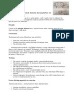 Ph II Milling Equipment Notes