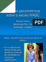 Estudo sobre a escala MASC