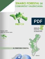 El escenario forestal en la Comunidad Valenciana