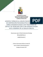 Politicas Publicas y Estrategias de Hiperactividad y Deficit Atencional