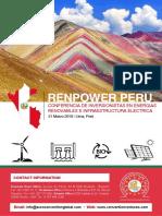 Agenda - Renpower Peru - ESP