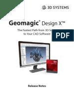 GeomagicDesignX ReleaseNotes v2016.2.0