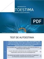 DIAGNOSTICO.test de Autoestima