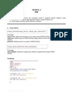 Modul Php4