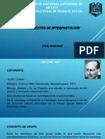 Elementos Basicos de Las Corrientes de Interpretacion de Los Grupos