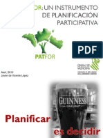 Participación Pública y el Plan de Acción Territorial Forestal de la Comunidad Valenciana