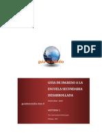 Guia de Ingreso a La Secundaria Historia 1 - 2018