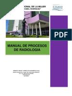 Manual de Procesos Del Servicio de Radiologia