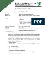 Notulen Evaluasi Struktur Organisasi