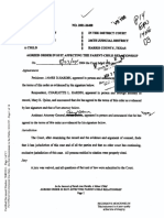 Agreed Order of Modification - 8-23-2004