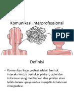 komunikasi interprofessional