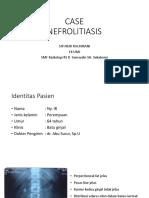 Case Nefrolithiasis