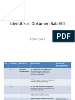 Identifikasi Dokumen Bab VIII