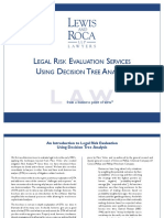 Decision Tree Analysis for Legal Risk Management