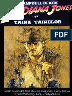 Campbell Black - Indiana Jones Si Taina Tainelor