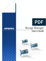Adaptec Storage Manager v4 Users Guide 00030-01-A