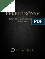 Fekete Könyv Korrupció Magyarországon 2010-2018