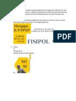 Revisi Prospectus
