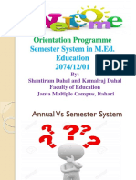 Semester System in Nepal
