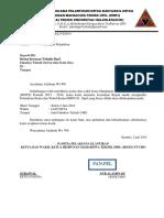 Surat Pemberitahuan Kegiatan 2014