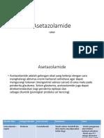 Asetazolamide