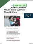 5 Movimientos Defensa Femenina