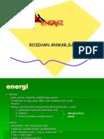 Pertemuan 3 Energi