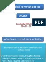 Non-Verbal Communication Kv 4sem