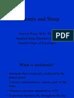 Melatonin and Sleep