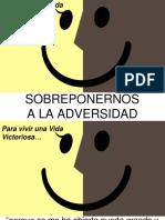 2016-06-29  SOBREPONERNOS A LA ADVERSIDAD U OPOSICIÓN