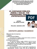 Unidad i El Contador Publico Perfil y Roles
