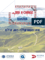 Scora X Change 2018 Romania - Invitation Package