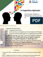 Aula 1 - Linguistica Aplicada, o que é?