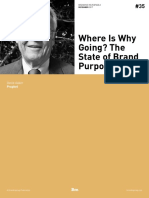 Where is Why Going? the State of Brand Purpose - Branding Roundtable 35