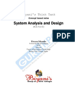 Up System Analysis and Design