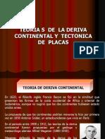 Teorías Deriva Continental y Tectónica de Placas