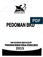Pedoman BKD 2015