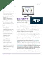 Extremecontrol Data Sheet