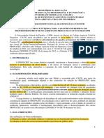 Extensão - CAVN - Edital - 2019