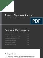 Dasa Nyama Brata