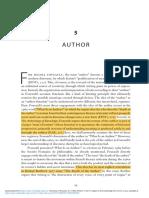 Author in Foucault