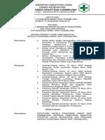 007 Sk Penetapan Indikator Prioritas Untuk Monitoring Dan Penilaian Kinerja Puskesmas Cigemblong