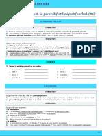 b1 Grammaire Gc3a9rondif Participe Prc3a9sent Adjectif Verbal